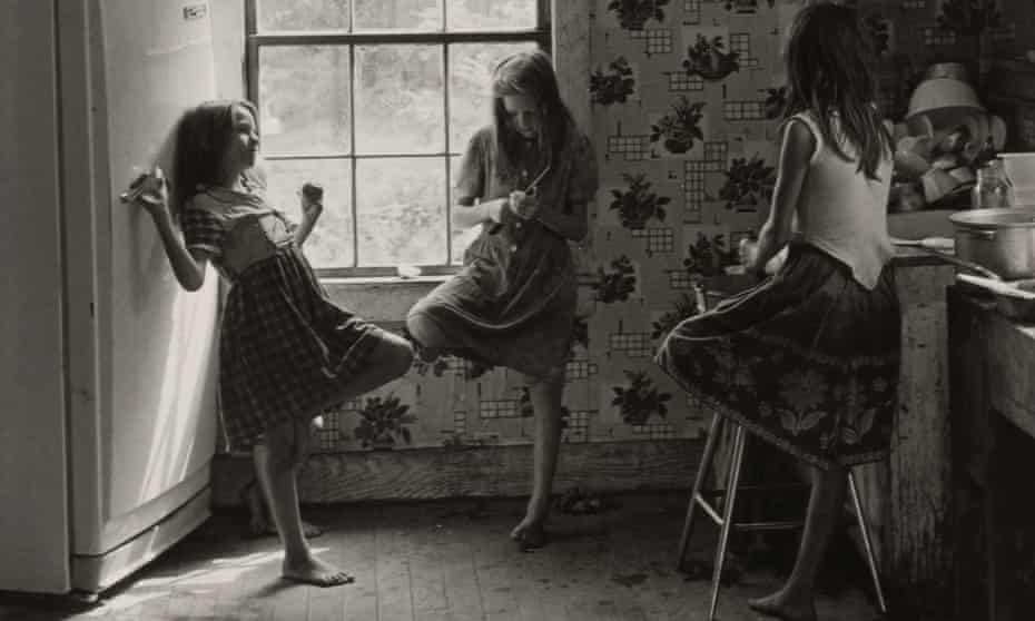 Cornett girls, Kentucky, 1964.