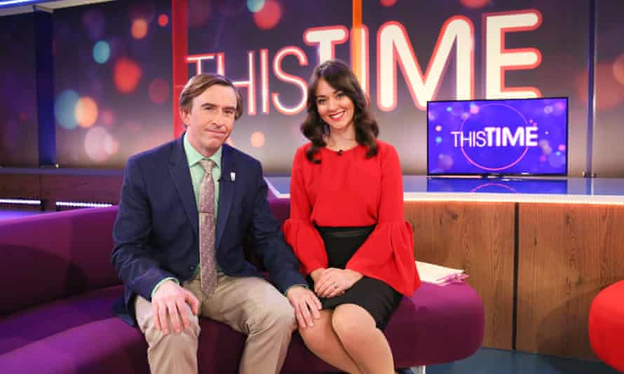 He's back, in all his glory and his tragedy ... This Time With Alan Partridge.
