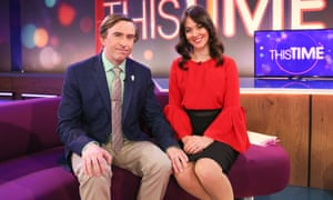 Steve Coogan and Susannah Fielding in the 'pitch perfect' This Time with Alan Partridge.