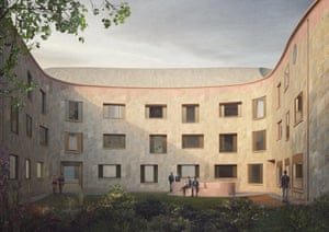 Kohn's design for a new quad for New College, Oxford.