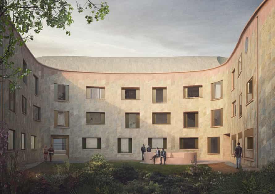 Kohn's design for a new quad for New College, Oxford.