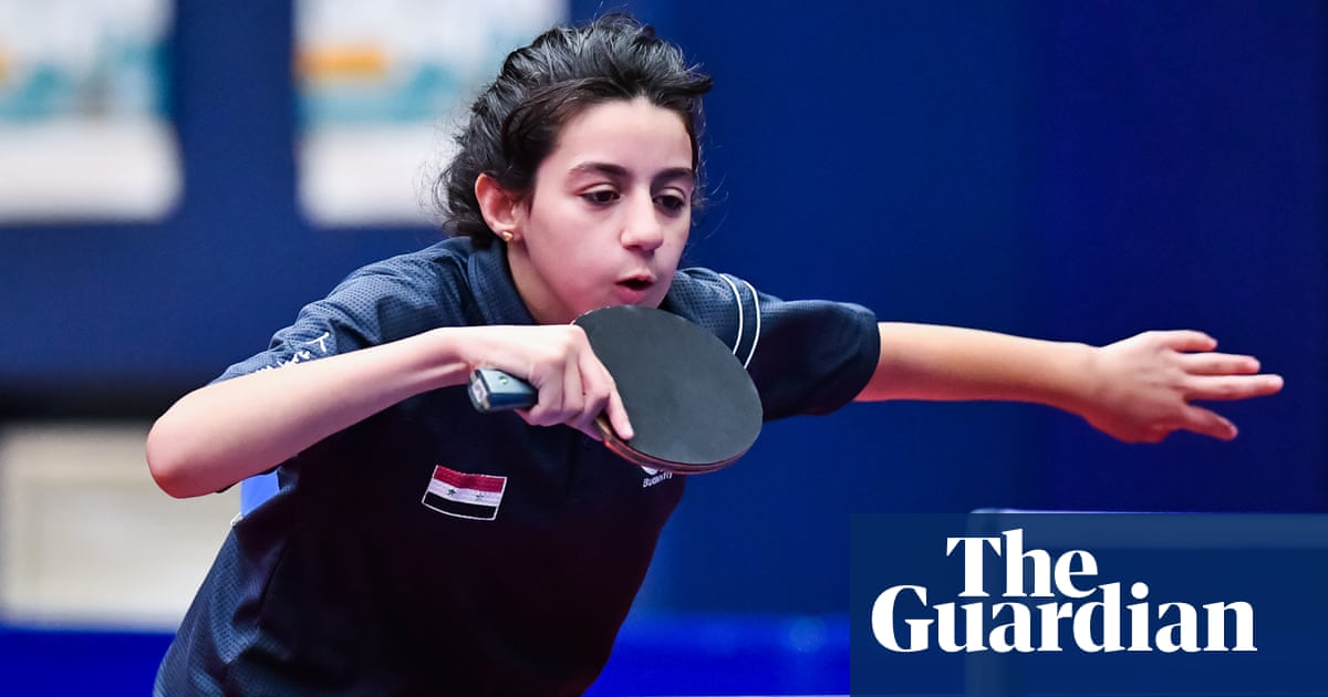 ผลการค้นหารูปภาพสำหรับ 11-year-old Syrian table tennis player Hend Zaza qualifies for Olympics