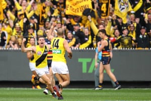 Richmond claimed their first premiership in 37 years with a convincing victory over Adelaide at the MCG.