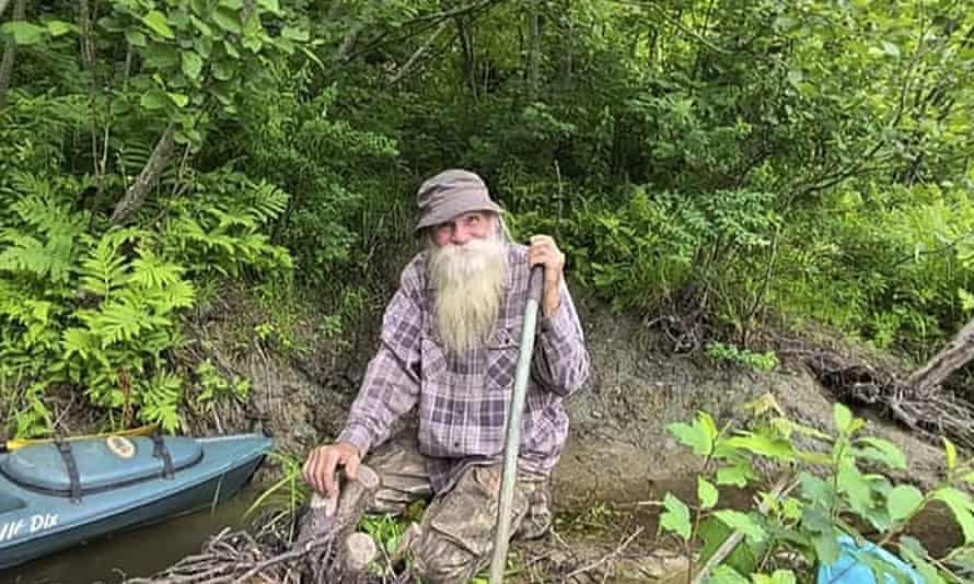 David Lidstone, 81, has been jailed after defying a court order to leave his house in the New Hampshire woods. Supporters say he should be able to live out his days off the grid.
