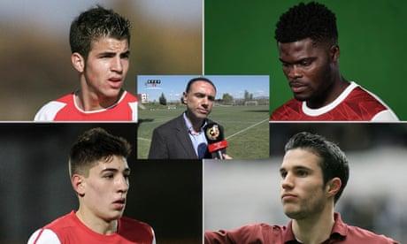 Francis Cagigao: 'Messi, Piqué, Mata were very close to joining Arsenal'