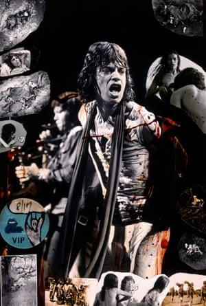 Mick Jagger, 1972
