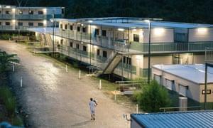 Detention facilities on Manus Island