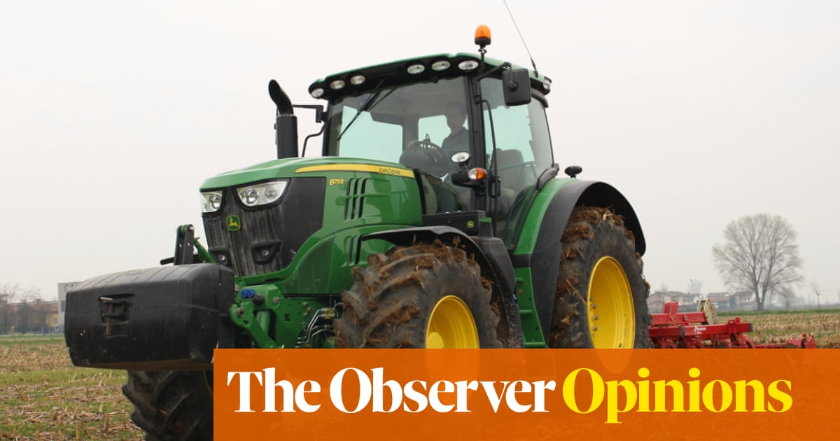 Why American farmers are hacking their own tractors | John