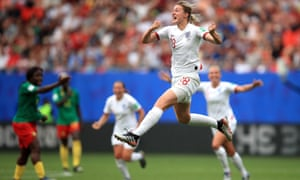 Ellen White, who scored England's second goal, was described by Phil Neville as undroppable.