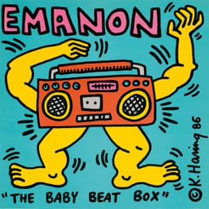 Emanon  cover artwork by Keith Haring
