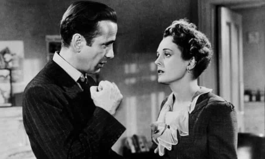 Humphrey Bogart and Mary Astor in The Maltese Falcon (1941).