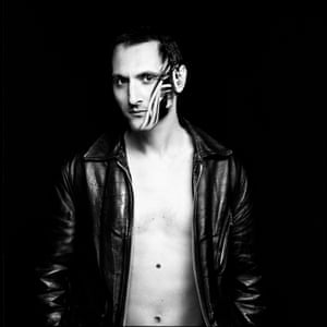 The cover of Mirwais's album Production.