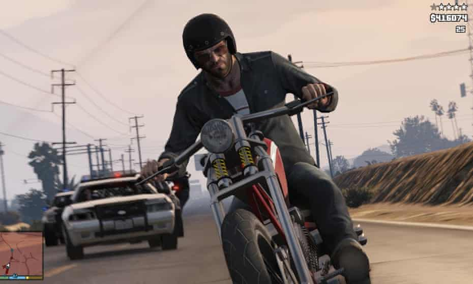 A screenshot from the video game Grand Theft Auto V