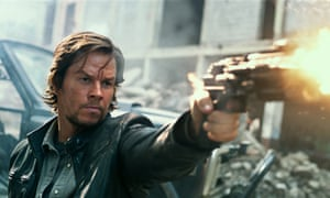 Mark Wahlberg in Transformers: The Last Knight.