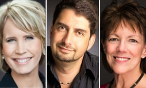Karen Jacobsen, Jon Briggs and Susan Bennett – but you will know them all as Siri.