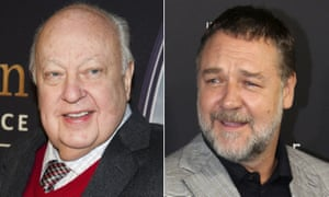 Roger Ailes and Russell Crowe composite