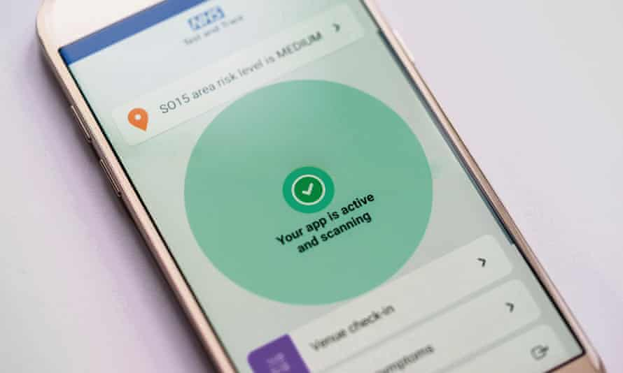 The NHS Covid app