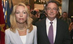 Joe Wilson and his wife, Valerie Plame, in 2006.