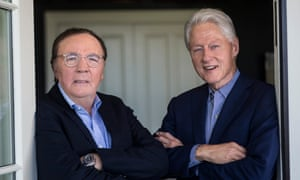 Bill Clinton and James Patterson, pictured in New York in 2017.
