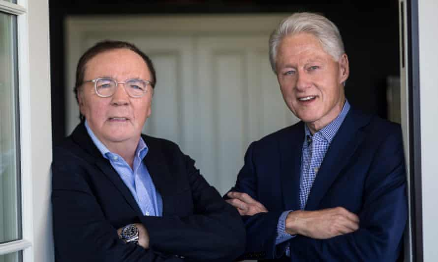 James Patterson and Bill Clinton, who published The President is Missing together in 2018.