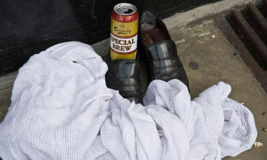 Possessions of a homeless person