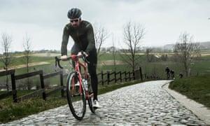 eab17429b05 Bradley Wiggins  tour of Flanders.
