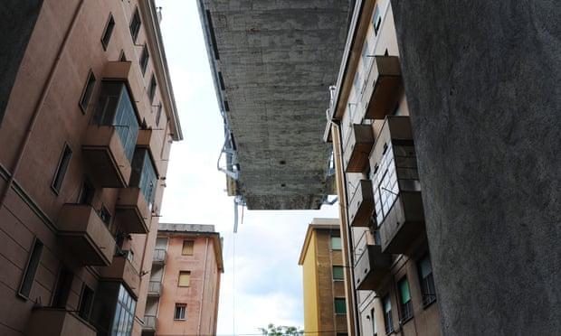 theguardian.com - Lorenzo Tondo - Italy's crumbling infrastructure under scrutiny after bridge collapse