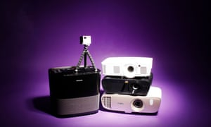 From tiny pocket projectors to ones that perform miracles with light.