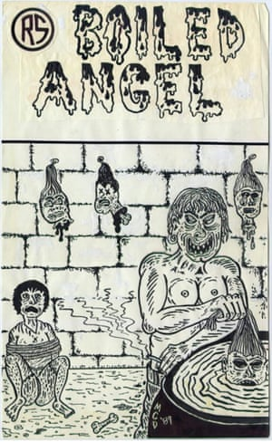 Cover of Boiled Angel #1.