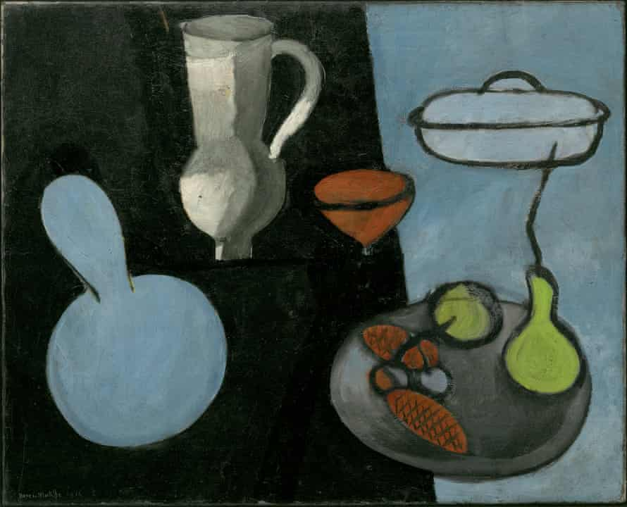 Gourds, Issy-les-Moulineaux, 1915-16 by Matisse.