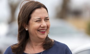 "Queensland's premier, Annastacia Palaszczuk, says her government's ""solid health response"" had kept Queenslanders safe."