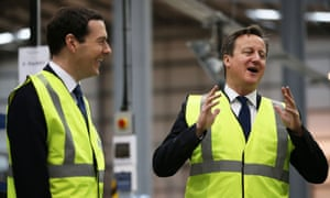 George Osborne (left) and David Cameron.