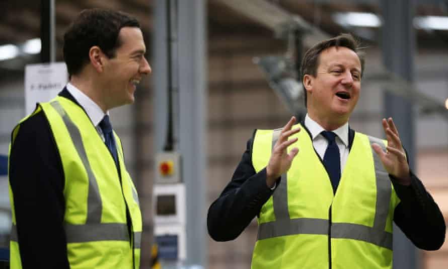 George Osborne (left) and David Cameron.