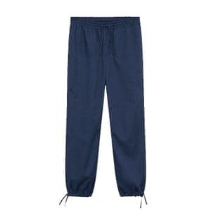 Cotton track pants, £35.99, mango.com.