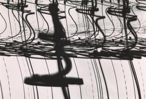 1952Luminogram II by Otto Steinert.