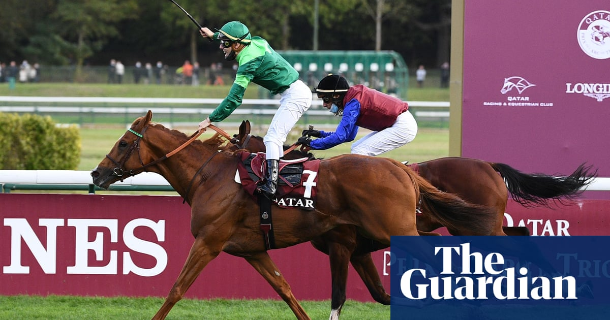Sottsass wins a rough Arc de Triomphe for France with Enable unplaced