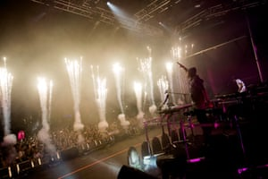 Mad(eon) for it: Porter Robinson and Madeon in action.