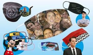 Mask on! (from left) Rammstein; Disney; Nicolas Cage; Suspiria; Twin Peaks; Justin Bieber