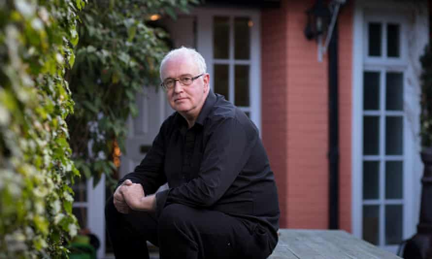 'There was some kind of sense that the only Irish people who had ever achieved anything were great writers': Joseph O'Connor, photographed last month at home in Killiney, Dublin, for Observer New Review