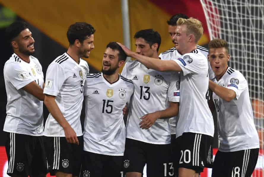 German manager Joachim Löw has picked a young squad for the Confederations Cup.