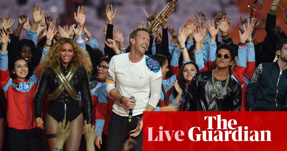 Beyoncé sets the Super Bowl alight with halftime show – as