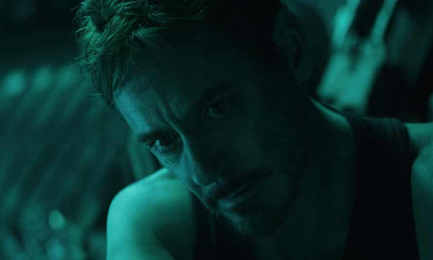 Robert Downey Jr in Avengers: Endgame.