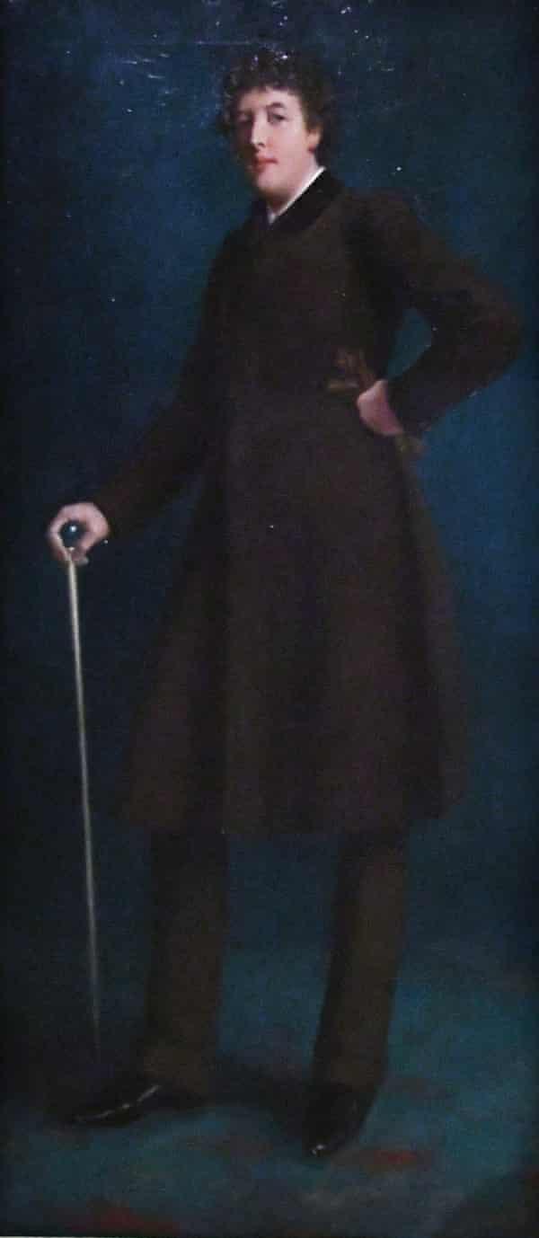 Oscar Wilde by Robert Harper Pennington..