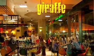 a Giraffe restaurant