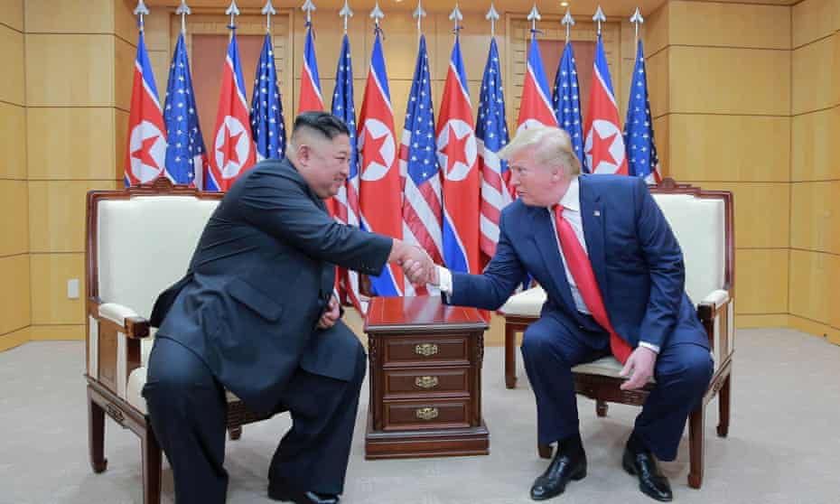 Donald Trump's three meetings with Kim Jong-un have produced nuclear arms control agreement.