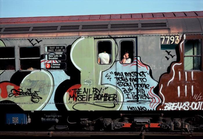 new york subway graffiti 1970 1980