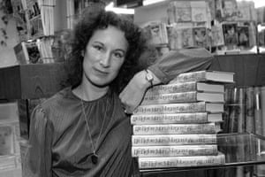 'An eerie sound came over the airwaves' … Atwood in the early 80s.