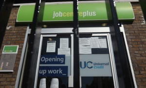 A Jobcentre Plus in London.