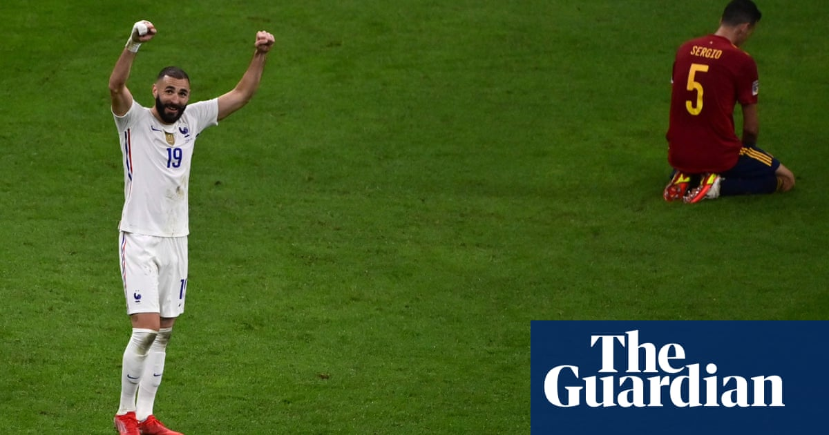 Sports quiz of the week: France, Fury, Forsberg and five City players