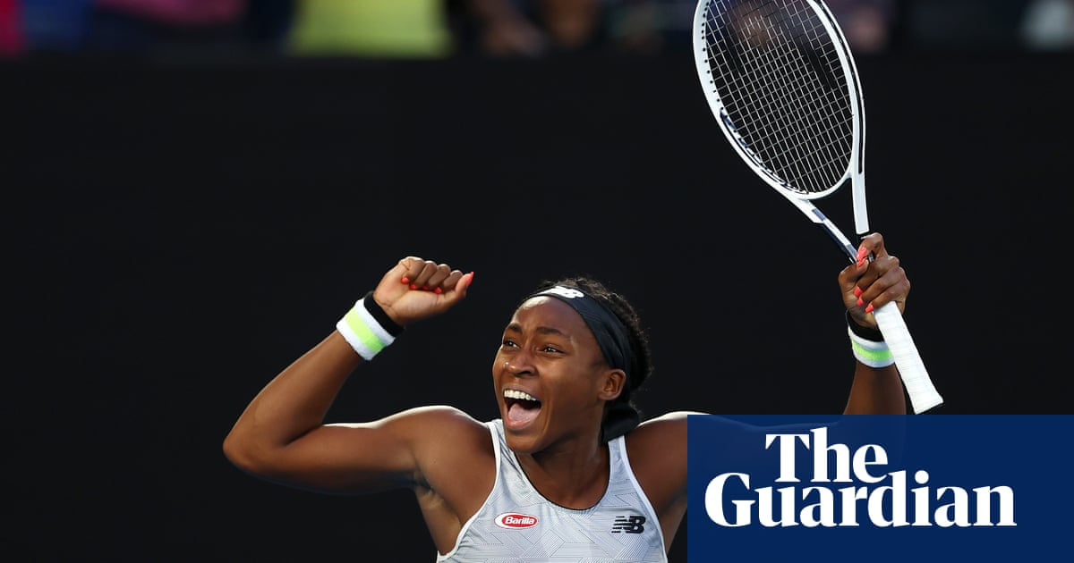 Coco Gauff shocks Naomi Osaka to reach Australian Open last 16